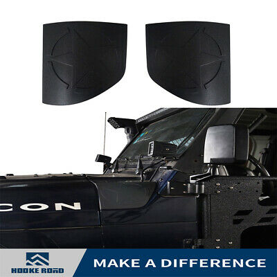 Hooke Road ABS Body Armor Cowl Guards Exterior for 1997-2006 Jeep Wrangler TJ