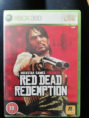 Red Dead Redemption (Microsoft Xbox 360, 2010) game