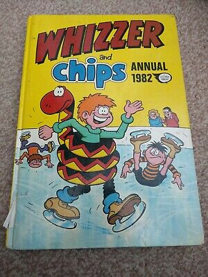Whizzer and Chips 1982 - Vintage Annual
