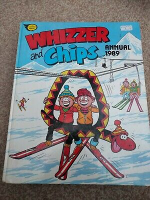 Whizzer and Chips 1989 - Vintage Annual
