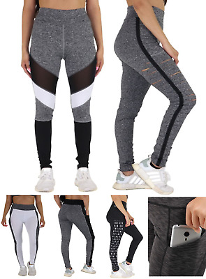 b64b4f7b6b067 Women's Yoga Workout Gym Fitness Active Compression Pants Leggings with  Pockets