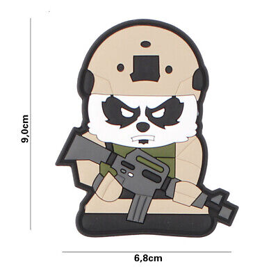 3D PVC morale patch airsoft  Tactical Panda  4110