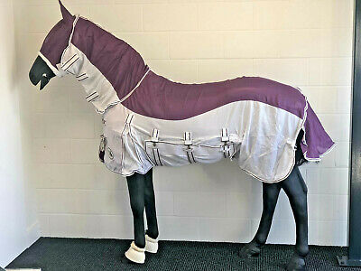 Equidor Brisbane Fly Rug Combo With Free Fly Mask