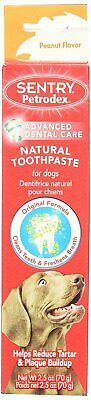 Dog Toothpaste SENTRY Petrodex Enzymatic Toothpaste for Dogs Peanut Butter