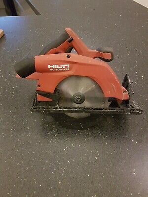 Hilti SC 70W-A22 Skill Saw, Cordless Circular Saw (body only with case)