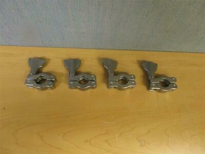 "Set of 4 Sanitary Clamps 3/4"" SS (16517)"