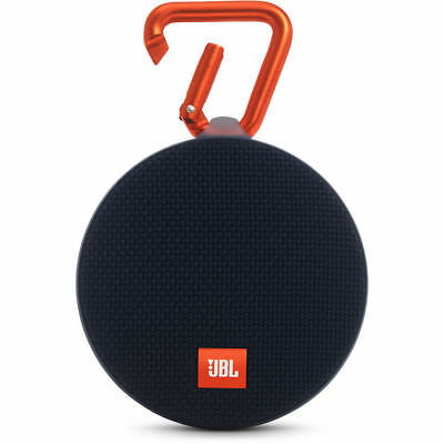 JBL Clip 2 Black (JBLCLIP2BLKAM) Portable Speaker System- Black
