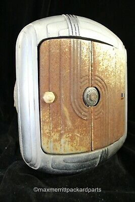 VINTAGE ORIGINAL 1930's HADEES DELUXE ART DECO HEATER MODEL H30 - NICE!!!