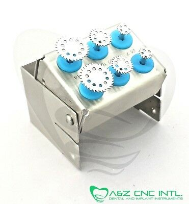 Dental Implant Saw Disk Kit, Diameters sizes 7,10 and 14mm /  Saw Disk Kit
