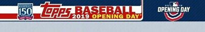 2019 Topps Opening Day Complete Master Set 275 (200 Base + 75 Inserts)