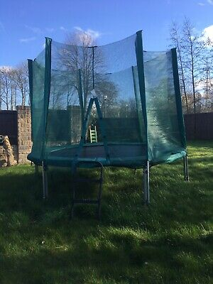 10ft Trampoline With Safety Net & Ladder