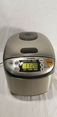 Zojirushi NS-LAC05 3-Cup Smart Rice Cooker