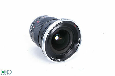 Zeiss 21mm F/2.8 Distagon ZE T* (Manual Focus) Lens For Canon EF Mount {82}