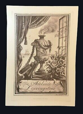 1933 Bookplate by Rex Whistler