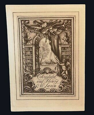 1932 Bookplate by Rex Whistler