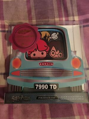 Harry Potter Flying Ford Anglia Car Limited Edition Photo Frame Brand New