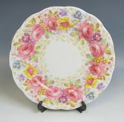 Royal Albert China SERENA 839329 Bread and Butter Plate(s) EXCELLENT