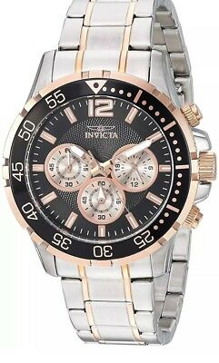 Invicta 23667 Specialty Men's 45mm Chronograph Stainless Steel Black Dial Watch