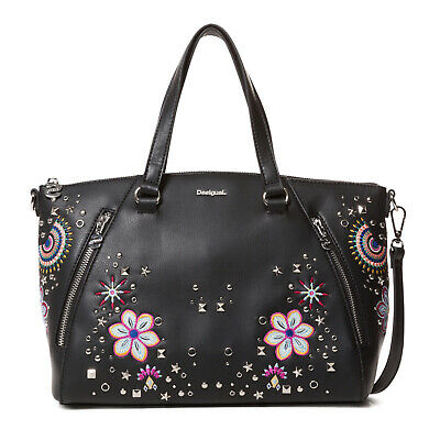 Desigual Bols Apolo Piadena Dark, Women's Handbag Strap Bag