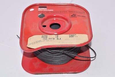 NEW Belden Wire and Cable 8890 10 500 Ft Miniature Test Prod Wire 24 AWG