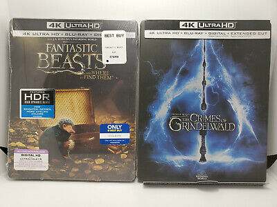 Fantastic Beasts Crimes of Grindelwald EMPTY STEELBOOK No Bluray No 4K CASE ONLY