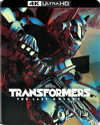 Transformers: The Last Knight EMPTY STEELBOOK OOP No Blu-ray, No 4K, CASE ONLY!