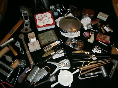 Vintage Kitchen, sewing, decoration, personal grooming,original boxes-1930'-40's