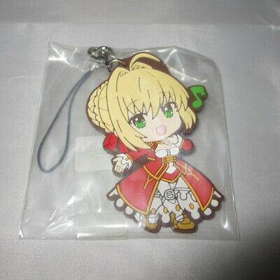 T770 Anime Fate//stay night saber Acrylic Keychain Straps Rare cosplay