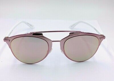 eb1c63fd90a9 Christian Dior Reflected pink white rose gold mirror Sunglasses M2Q0J