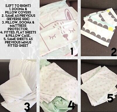 Cot Or Toddler Bed Bulk Bedding Bundle (Pick Up Available From 3155)
