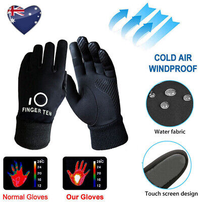 Kids Gloves Winter Waterproof 1 Pair Youth Boys Fleece Warm 3M Cycling Outdoor