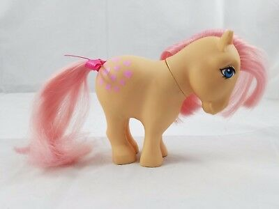 *My Little Pony G1 Flat Foot Peachy 1982/1983 FF pretty parlor very rare