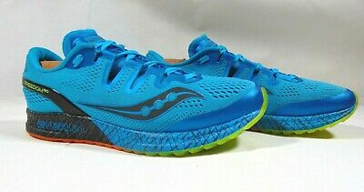 finest selection 4400a c6a17 SAUCONY EVERUN FREEDOM ISO Men's Trail Running Shoes Electric Blue Size 9
