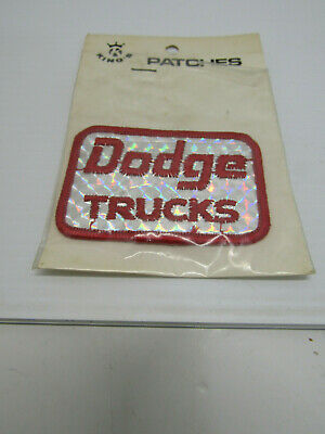 Nib Old King's Prism Patch Dodge Truck's Advertising