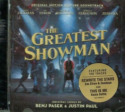 The Greatest Showman Original Soundtrack CD New Sealed