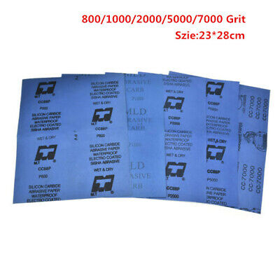 Wet and Dry Sandpaper Any Grit 800-7000 High Quality Sanding Paper Abrasive Tool