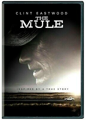 The Mule (DVD,2018) NO SEAL, NO PLASTIC WRAP - Drama - FREE SHIPPING!!!!!!