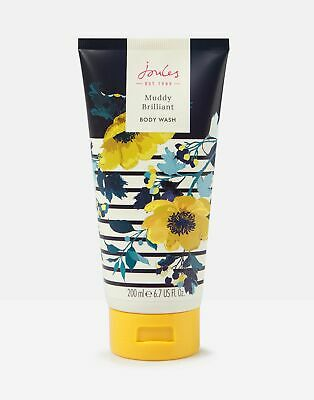 Joules Body Wash 200ml ONE in FRENCH NAVY Cream FLORAL in One Size