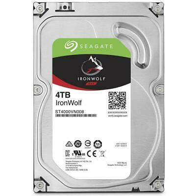 "Seagate 4TB IronWolf NAS HDD 3.5"" SATA Internal Hard Drive 5900RPM 64MB Cache"