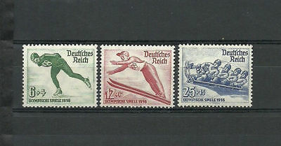 Germany. Third Reich. 1935. Sports, Winter Olympic Games In Germany ! Full Set !
