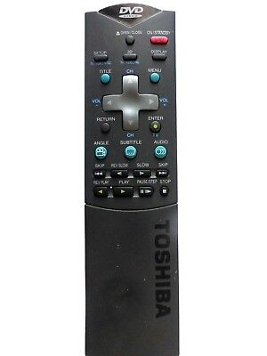 TOSHIBA DVD REMOTE CONTROL SE-R0019 for SD2109B has a bit of heat damage