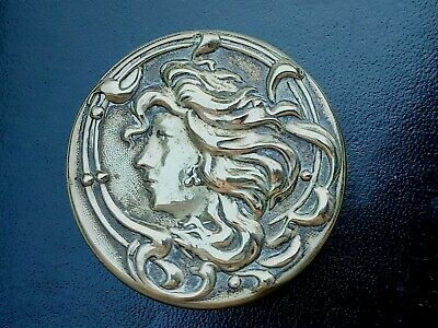 Antique Art Nouveau Silver 'e.p.n.s' Trinket Box