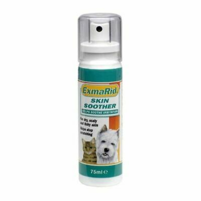 Exmarid Skin Soother 75ml Pump Spray for Cats & Dogs with Dry & Itchy Skin