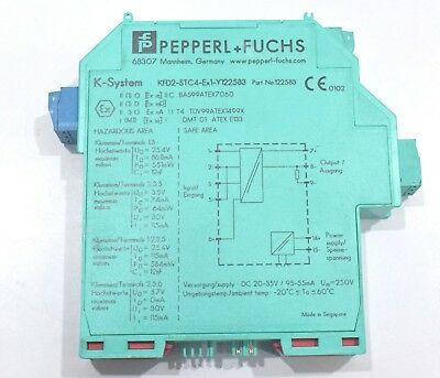 Pepperl+fuchs KFD2-STC4-Ex1-Y122583 Smart output 1-channel isolated barrier