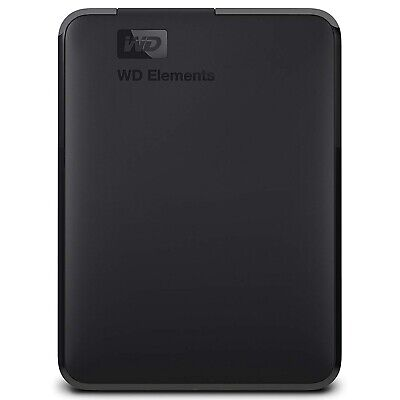 "Western Digital WD Elements 3TB 2.5"" USB 3.0 Portable External Hard Drive HDD"