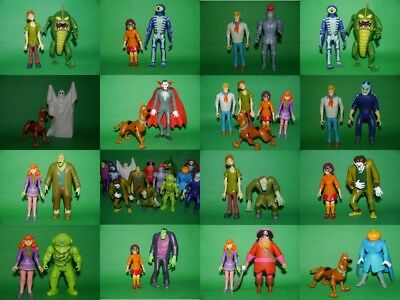 Scooby Doo Figures & Monsters - NEW - Large & Fully Articulated,Poseable Figures