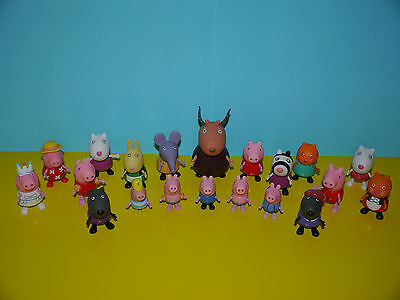 Peppa Pig Figures ~ Peppa,George,Suzzy,Candy,Zoe,Danny,Pedro,Gazelle & More ~NEW