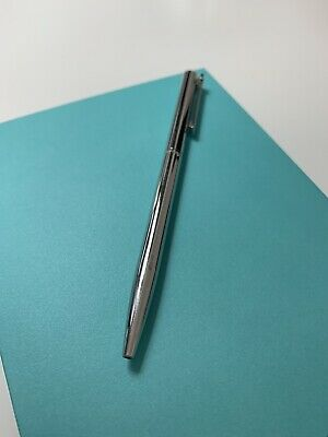 100% Authentic TIFFANY & CO T-clip Ballpoint Pen Sterling silver SV925