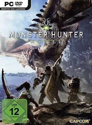 ⭐SALE⭐ MONSTER HUNTER WORLD DELUXE PC No Key Code [ Email Delivery] Steam