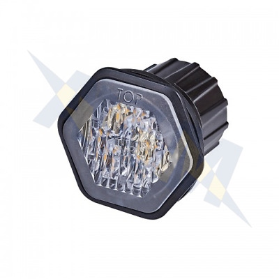 LED Autolamps HALED6DVAR65 R65 6 LED Hide Away Amber Warning Module 12/24v